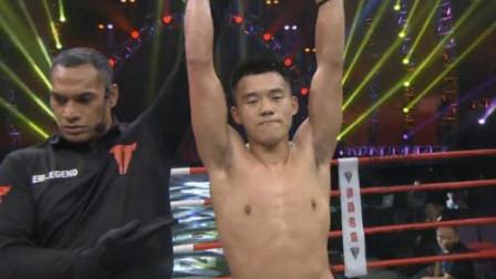 中国猛将连续重拳KO日本拳手,斩获胜利!