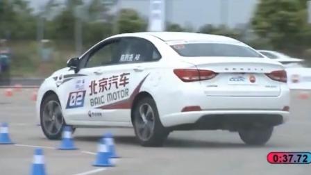 CPC中国量产车性能赛:北汽绅宝VS长安逸动,谁才是操控王者?