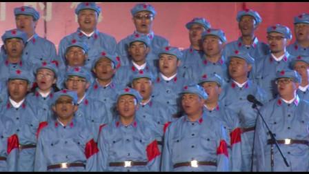 日喀则市吉林援藏队员建国70周年红歌比赛合唱曲目-山丹丹开花红艳艳
