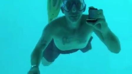 男子水下浪漫求婚却意外溺亡 没来得及听女友说我愿意