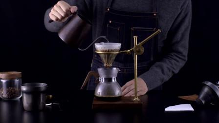 别再喝速溶咖啡了!手冲咖啡,2分半钟搞定!