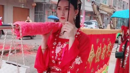 广东潮汕农村民俗美女成群,个个比网红漂亮,传统文化没有消失
