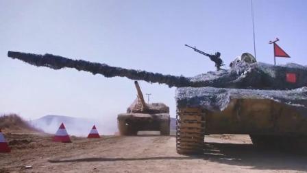 军旅:洋坦克使坏多次逼停中国坦克,结果下秒就遭报应,笑死