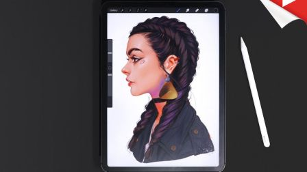 【搬运】iPad Pro+Procreate 绘制专业的艺术插画