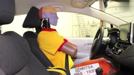 2019款丰田卡罗拉碰撞测试视频,了解安全性能后,买不买
