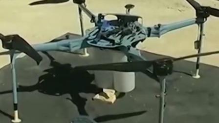 叙媒:叙击落搭载集束炸弹的无人机