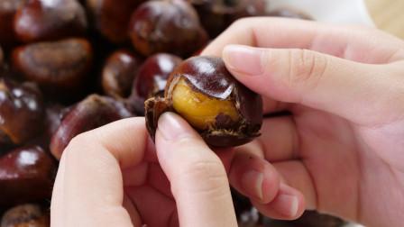 糖炒栗子别只放糖,多加一样东西,不仅板栗香味四溢,还非常好剥