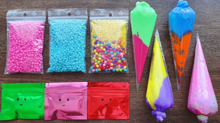 7种不同色的水晶泥大混合,会更减压吗?