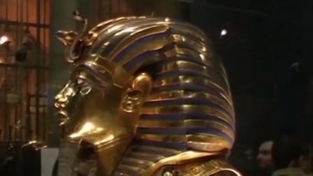 古埃及法老图坦卡蒙外层镀金棺修复工作开始 首都晚间报道 20190922 高清