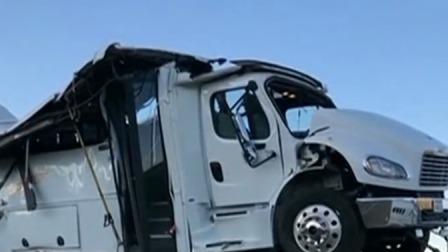 中国旅游团大巴在美国犹他州发生车祸 事故导致中国游客4死26伤 首都晚间报道 20190922 高清