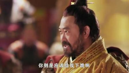 不愧是混世魔王程咬金,面对杨广还是一副吊儿郎当的样子