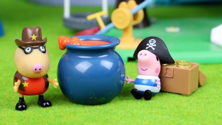 趣盒子小猪佩奇玩具大全 小猪佩奇玩具小猪乔治小马佩德罗