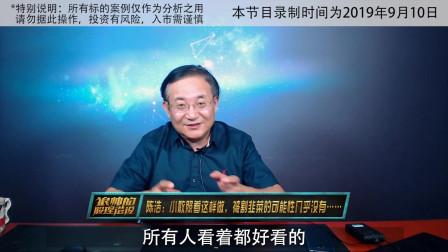 陈浩:小散照着这样做,被割韭菜的可能性几乎没有……