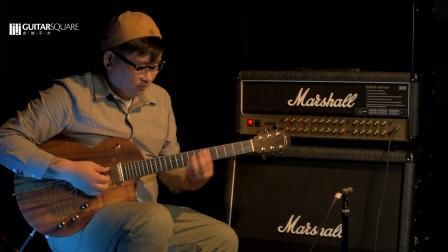 Lowden 电吉他版 德国Cordial科迪亚CSI METAL吉他乐器线波形对比Fender原装线