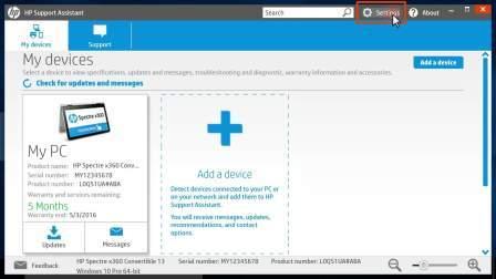 用HPSupportAssistant自动更新HP软件和驱动
