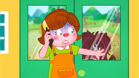 搞笑的艾伦-奇怪的发型 小朋友不要留太长的刘海