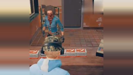 和平精英:封尘的圣枪,找到隐藏的店长,看看他如何反击
