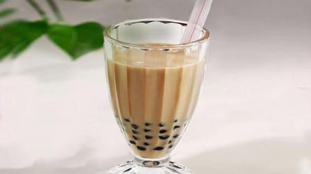 教你在家自制珍珠奶茶,做法简单易学,学会不用再去奶茶店买了