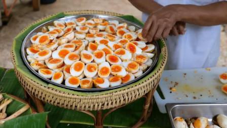 鹅蛋怎么做好吃?小伙将鹅蛋做成大餐,从此爱上吃鹅蛋