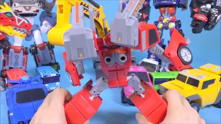 迷你特工队玩具拼装  变装玩具帅到爆