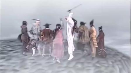 《东游记》八仙过海,各显神通,大战穿山甲化成的八爪鱼,好看!