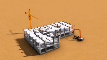 建筑施工模拟动画