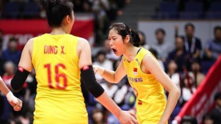 朱婷全场最高23分!中国女排3-0美国,郎平为她竖大拇指【集锦】