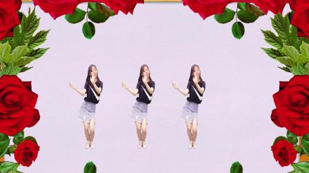 长得漂亮的小姐姐个个都是人才,广场舞《自由飞翔》舞蹈独具风韵