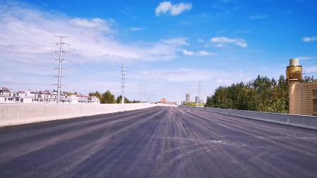 淮安这个全国环境前二十强的城市 蓝天白云是标配 这个可不是宫崎骏画出来的 伴随着终于等来的淮安高架 舒服