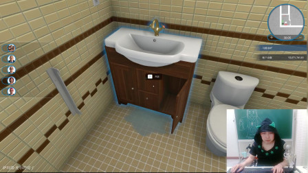 房产达人第220期,女鬼房屋的金碧辉煌卫生间