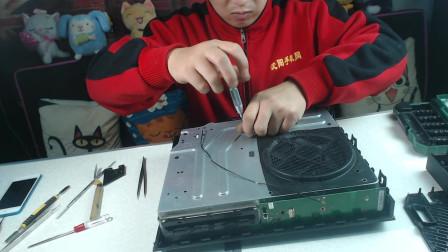 微软Xboxone拆机维修评测拆机帮出品