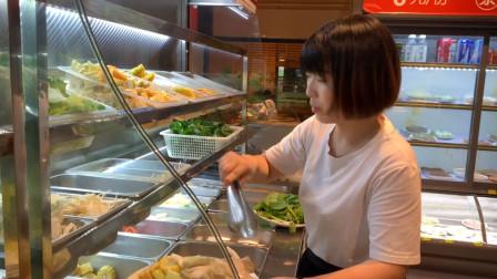 探店31元自助素菜小火锅,素菜随便吃,荤菜6元一盘!
