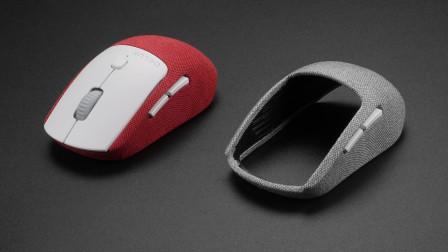 布面+可换壳设计,多彩M520无线鼠标拆解