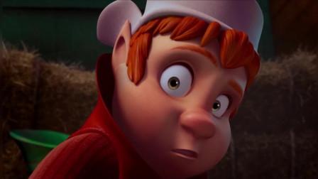 拯救大明星:圣诞老人来到男孩家里,向他展示时间球,美丽极了