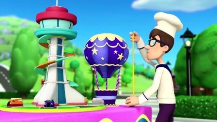 汪汪队:波特先生的蛋糕最高,也最好吃,他获得了第一名!