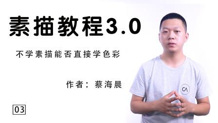蔡海晨素描教程3.0版本03集