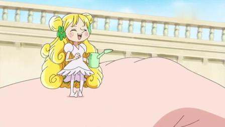 海贼王:世界最大与最小的公主见面,天龙人为其保驾护航!