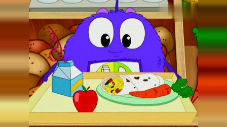 爱探险的朵拉:朵拉和布茨来到农夫市集,外星宝宝要吃什么东西?