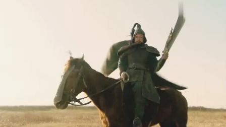 关胜一口大刀称王,挑战豹子头林冲,亦是不落下风!