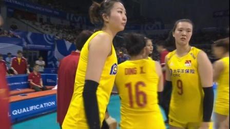 2020东京奥运会女排资格赛 中国vs土耳其(中文解说)