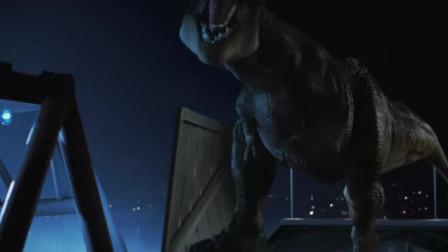 侏罗纪公园之失落的世界:巨龙强势来袭成功登陆城市,这谁能挡的住,看起来就凶残!