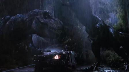 侏罗纪公园之失落的世界:秃头大哥被暴龙分尸,为了救人命都没了,妹子你是真心坑!
