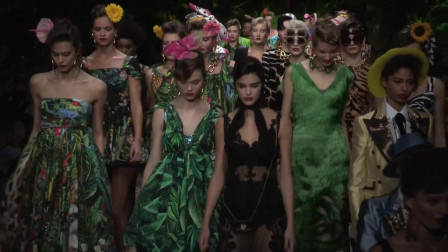 米兰时装周杜嘉·班纳Dolce & Gabbana 2020春夏时装秀时装发布会