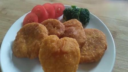 南瓜饼用普通面粉做法,味道超赞!