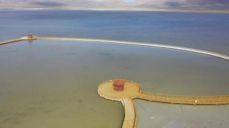 农村哥带您看,伊吾县的幻彩湖,值得一去吗?