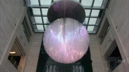 创新三维灯光装置 - 山东日照城市规划展览馆