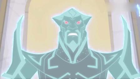 兽王争锋:魔焱吸收了隐身兽,突破了禁锢,赛场裂开他真身出现了
