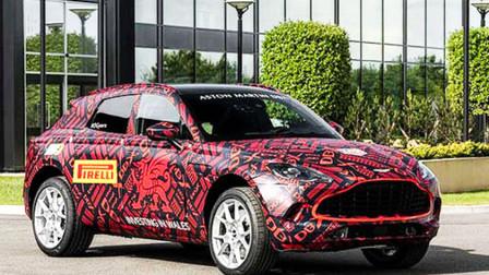 又添新猛将!阿斯顿·马丁首款SUV-DBX曝光,12月4日全球首发!
