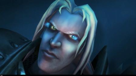 魔兽世界:巫妖王通关场景CG,接下来的这一幕,相信老玩家都见过