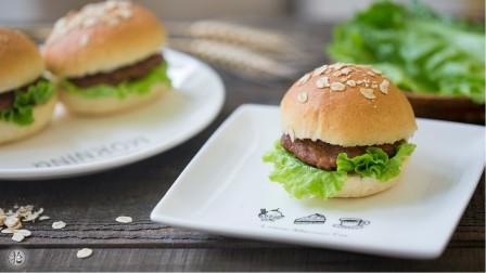 全麦汉堡胚 【豆果美食】